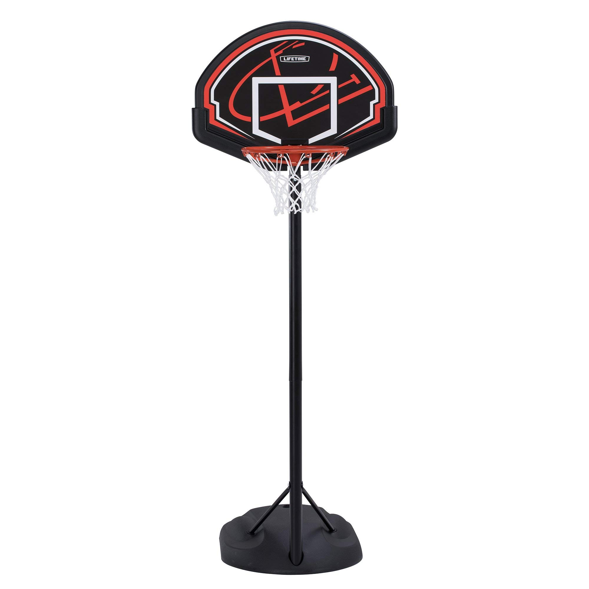 Lifetime 90022 Youth Height Adjustable Portable Basketball System (Certified Refurbished)