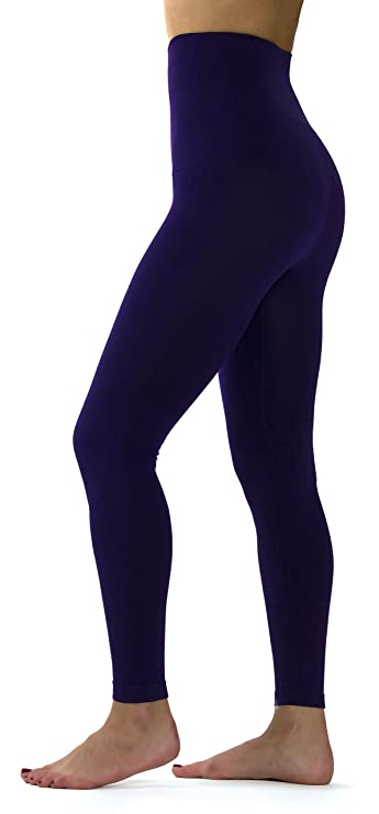 6fd040f532a9be Ylluo Premium Tummy Support Slimming Leggings Thick High Waist Fleece and  Non Fleece at Amazon Women's Clothing store: