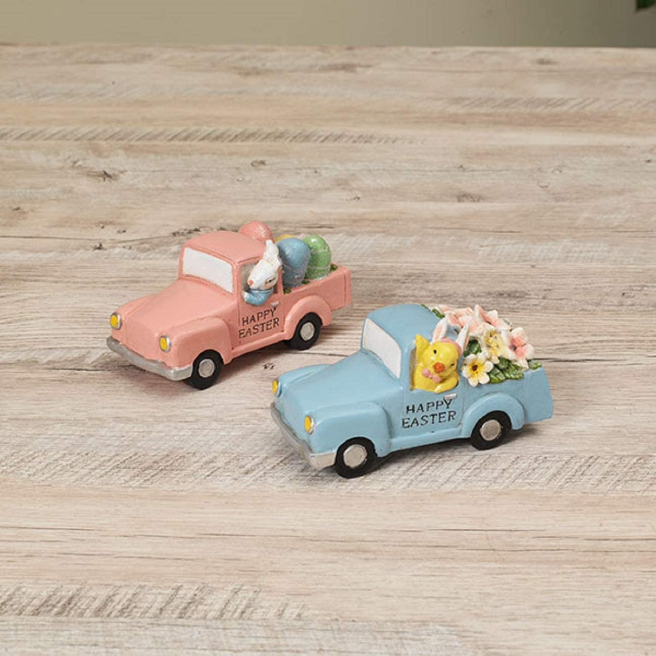 Bunny & Chick Happy Easter Truck Figurines