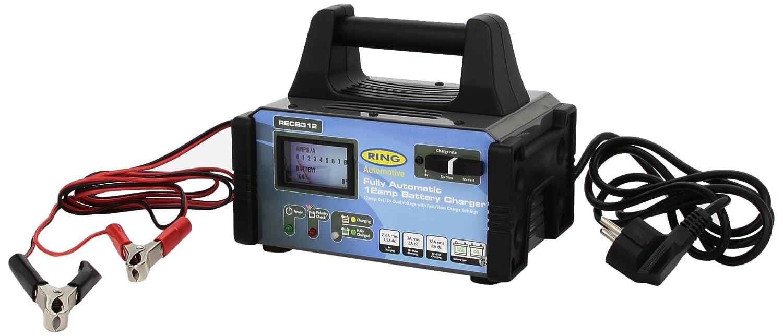 12 Amp Ring RECB312 Chargeur de Batterie 6//12 Volts Mod/èle Pro 100/% Automatique 180 AH