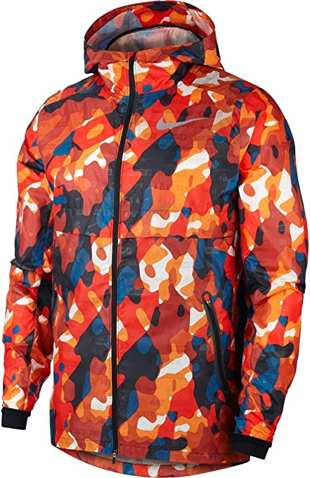 Costoso Último el estudio  Nike Men's Shield Ghost Camo Jacket: Amazon.de: Bekleidung