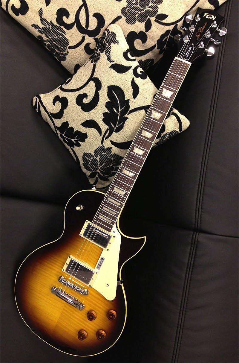 FGN fgls 20hd-n Neo Classic LS 20 Heritage Guitarra darkburst ...