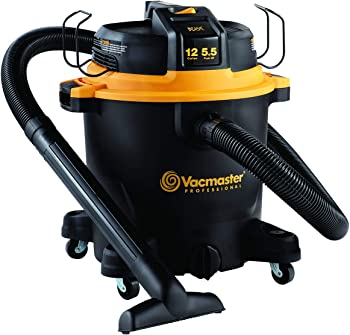 Vacmaster 12-Gallon 5.5 HP Wet Dry Shop Vac