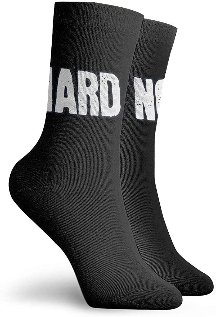 Letterkenny Hard No Socks Womens Comfort Crew Sock Mens Moisture Wicking Crew Sock