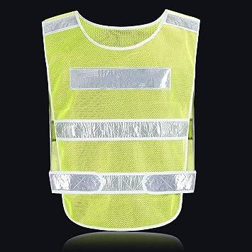 Mr.T Obras viales fluorescente chaleco, chaleco reflectante de ...