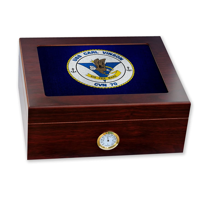 高価値セリー プレミアムデスクトップHumidor Carl – ガラストップ – 米国海軍USS – Carl Vinson ( ) cvn-70 ) B06W9H828X, パティスリーラヴィアンレーヴ:d4fd17cc --- a0267596.xsph.ru