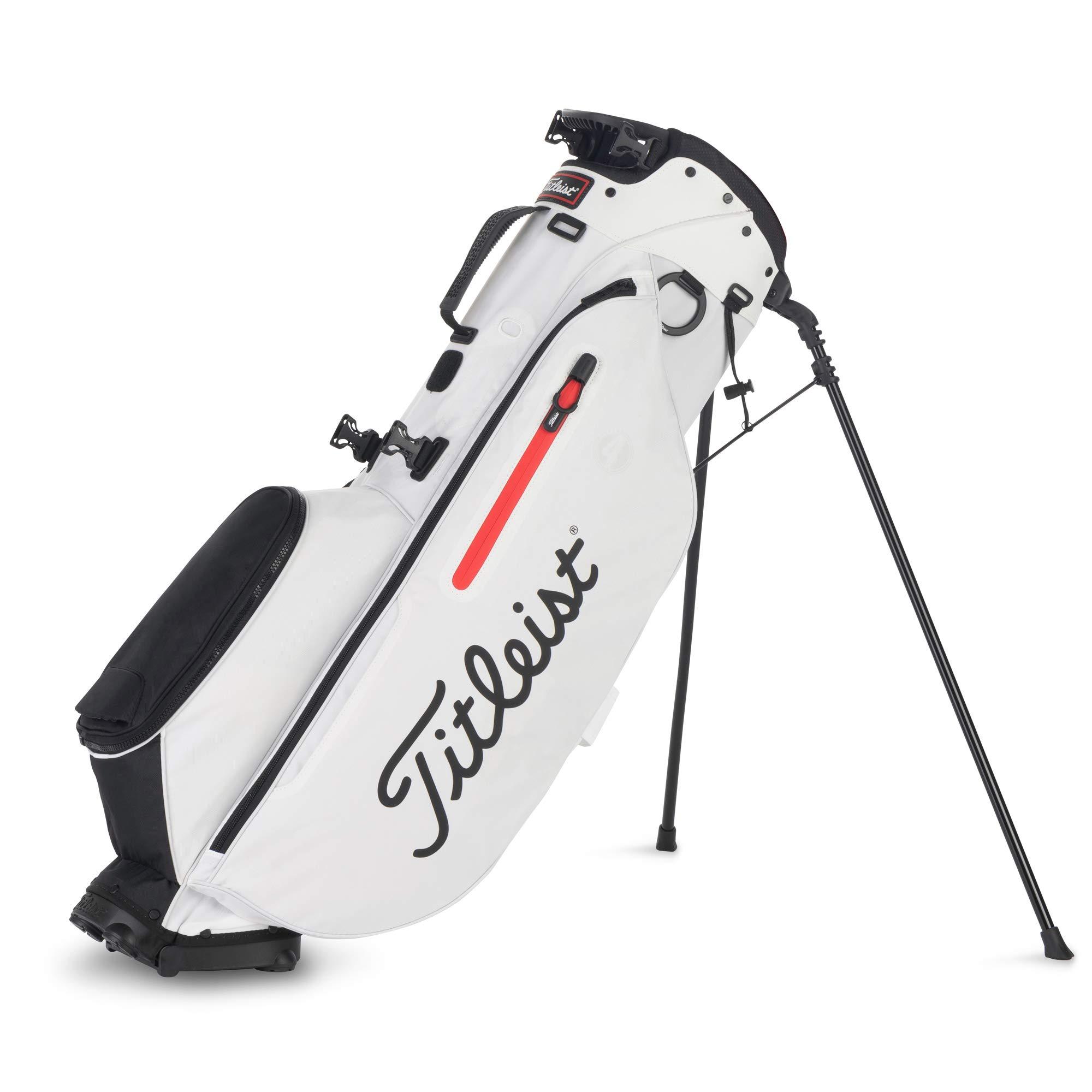 Titleist Players 4 Golf Bag White / White / Black by Titleist