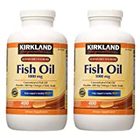 Kirkland Signature hgar Fish Oil Concentrate 2 Pack