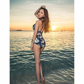 RF Bikini Estilo Western. 3-point Traje de baño Modelo , Azul ...