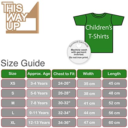 6eda148ccf Ay Up Me Duck Kids T-Shirt -x10 Colours- XS to XL Sizes (3 to 13 Years):  Amazon.co.uk: Clothing