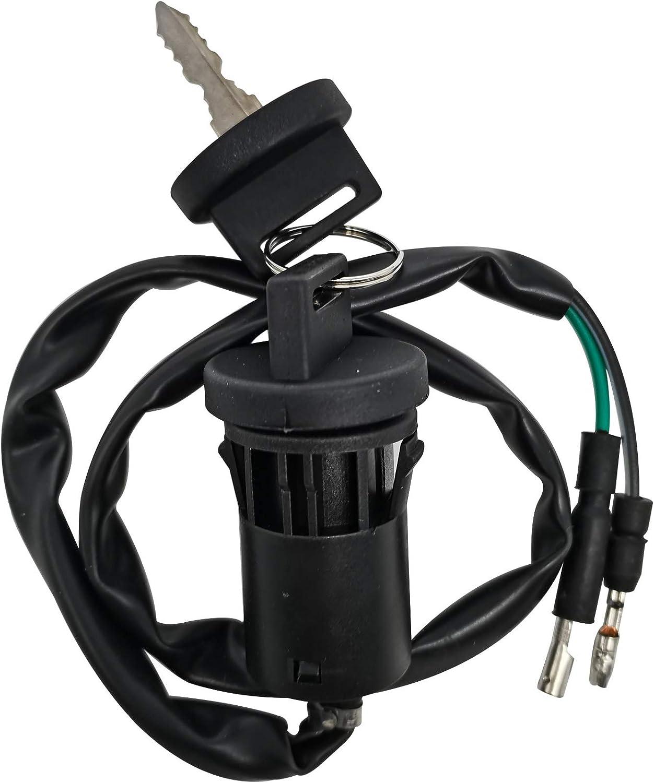 Ignition Key Switch for Honda 90 TRX90 Fourtrax 1993-2005//35100-HF7-007