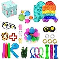 Fidget Pack, 29Pcs Fidget Toys Cheap Fidget Toys Set Sensory Fidget Toys for Kids Adults, Simple Dimple Fidget Toys…