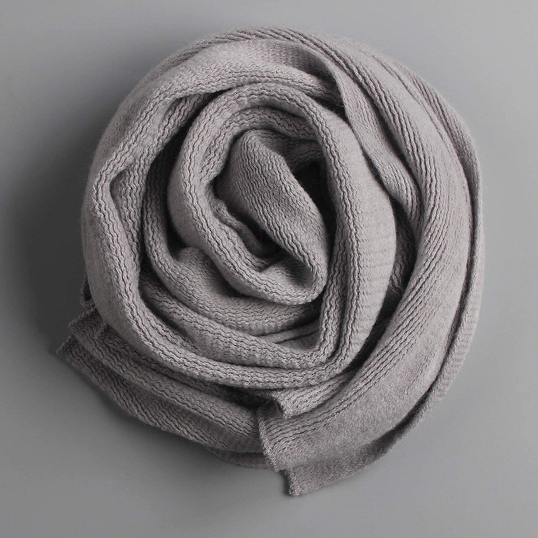 2019 Winter Scarf Men Black And Gray Warm Soft Cotton Men Scarves