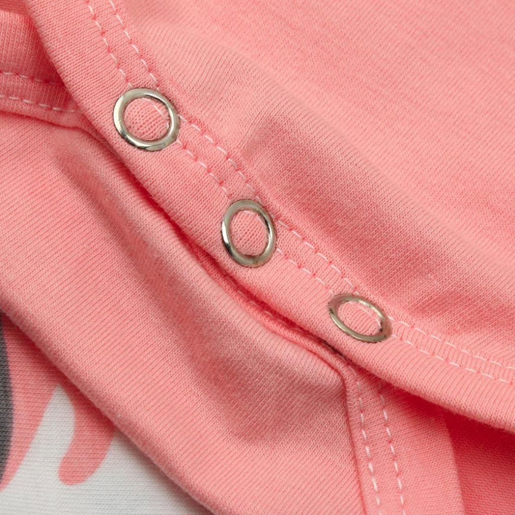 cce32dcef Amlaiworld Recién Nacido bebé Niño Niñas Camuflaje Arco Tops Pantalones  Trajes Conjunto Ropa