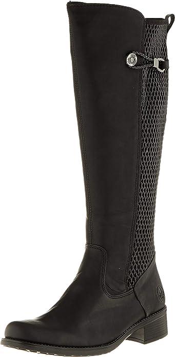 Rieker Damen Stiefel schwarz Z7351 00