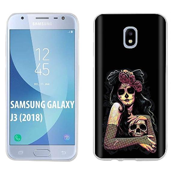 the best attitude 1a863 ae64e Amazon.com: [Case86] Samsung Galaxy J3 2018/Amp Prime 3/Express ...