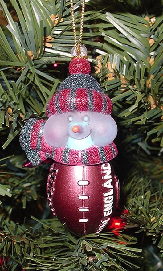 NFL New England Patriots luz LED muñecos de Navidad diseño de ...