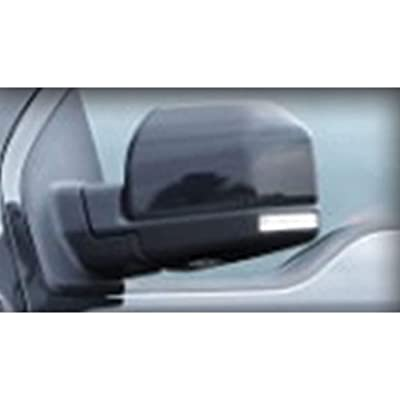 CIPA 11550 Black Custom Towing Mirror Sleeve: Automotive