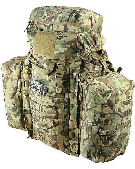 Mens ejército combate Militar Molle 90L de viaje mochila mochila Superávit Camping Nuevo