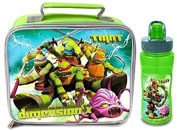 Diseño de las Tortugas Ninja CME control bolsa para el almuerzo/y recipiente