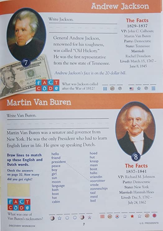 8dd928c9175e Amazon.com  Let s Grow Smart Workbook and Flash Cards - US Presidents  Toys    Games