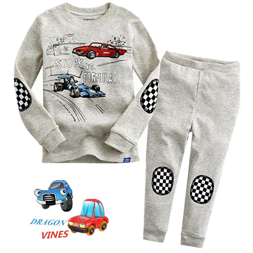 Kids Birthday Gift Sleepwear Toddler Pajamas Set Pants 2 Piece Pjs Top