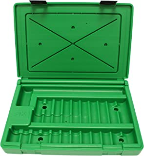 """product image for SK Hand Tool ABOX-4051 Blow-molded replacement case for 4051 1/2"""" Drive Impact Socket Set, Green"""