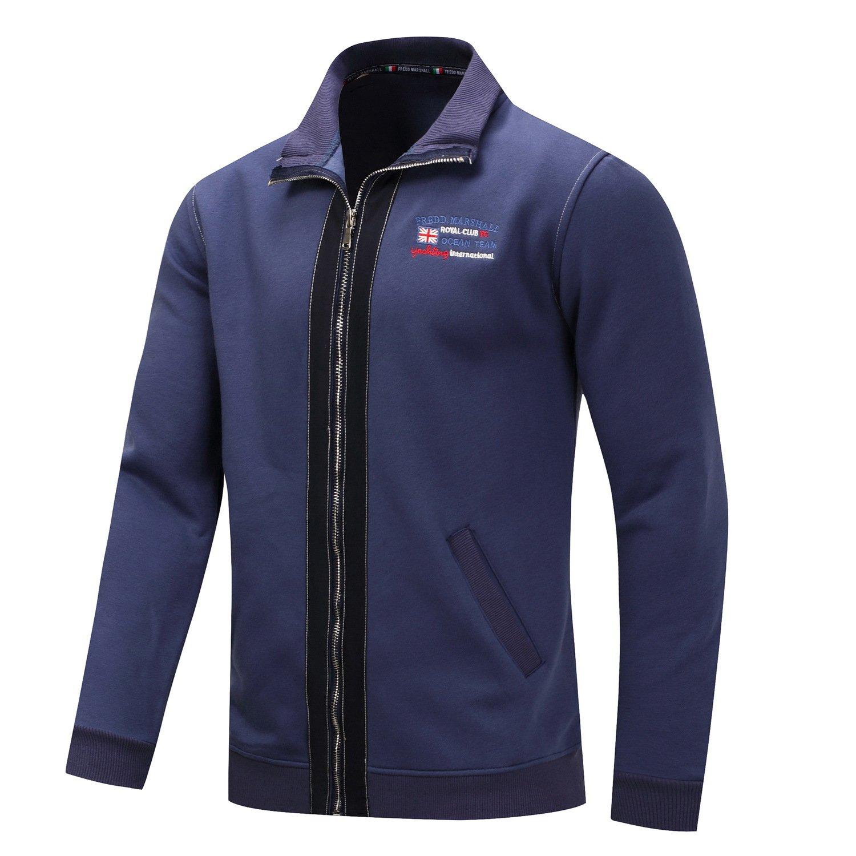 Duhud Mens Casual Fit Fashion Cotton Baseball Jacket Coat sweater