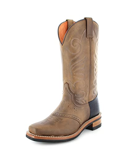 Sendra Boots 11598, Bottes et bottines cowboy femme - Marron - Tangerine, 36 780b47ab112d