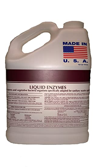 Industrial Kitchen Cleaning Products 1. Patriot Chemical Sales 1 Gallon Septic Tank Treatment Liquid Enzymes Grease Trap Cleaner 2 Year Supply