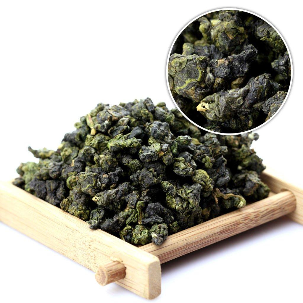 GOARTEA 500g (17.6 Oz) Supreme Taiwan High Mountain Jinxuan Jin Xuan Milk Oolong Tea