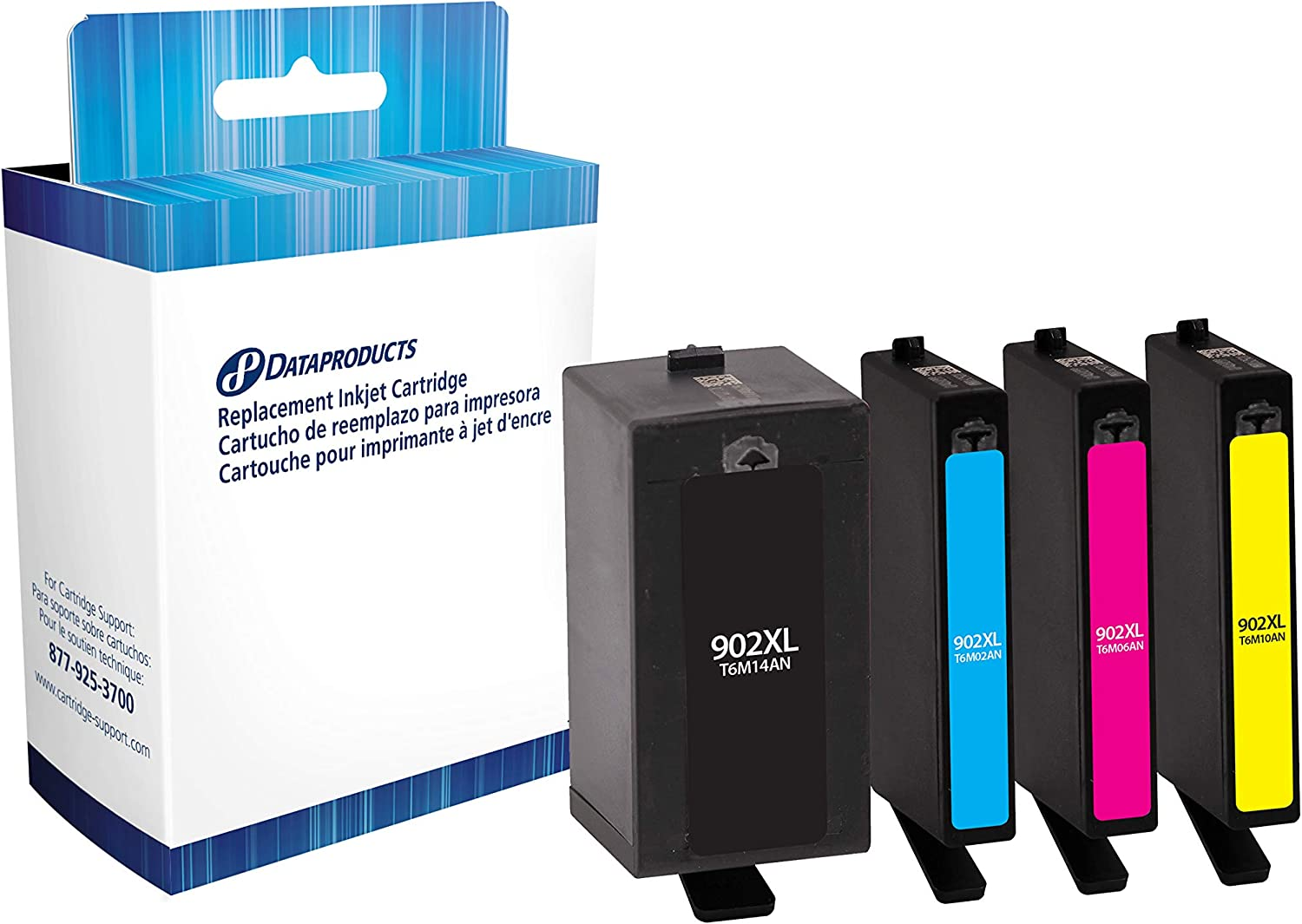 Dataproducts DPC564WN Remanufactured Tri-Color Inkjet Cartridge for HP 61XL Ink