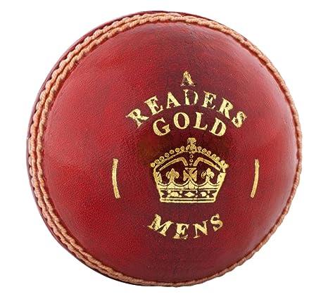Los lectores de oro una pelota de críquet para hombre - Pack de 6 ...