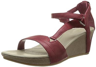 8c866a2969483d Teva W Capri Wedge Women s Sandals Red (Rhubarb)