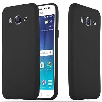 Cadorabo Funda para Samsung Galaxy A5 2015 en Candy Negro ...
