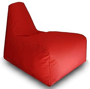 Sitzsack Mit Hoher Rückenlehne Kissen Lounge Sitzsack Sessel