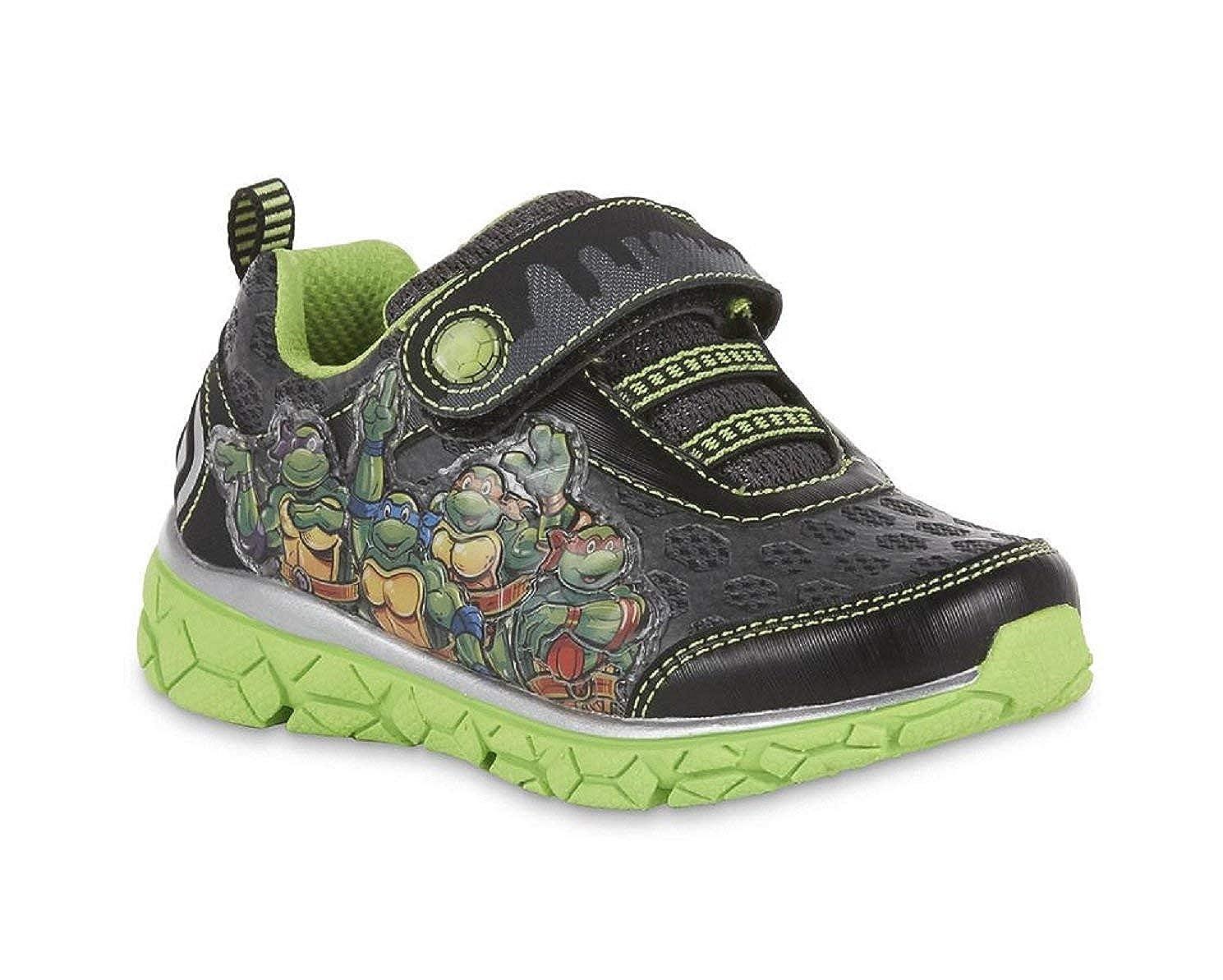 Nickelodeon Toddler Boys' Teenage Mutant Ninja Turtles Sneaker, Light-Up