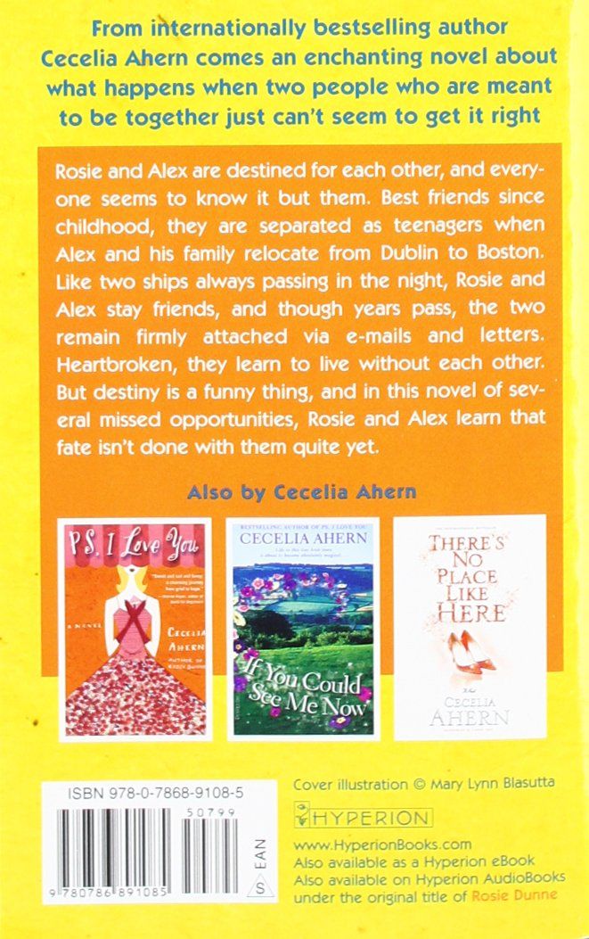 Love Rosie Cecelia Ahern Ebook