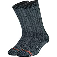 PlusAg 2P Pack Men's Outlast Blended Outdoor Work Socks