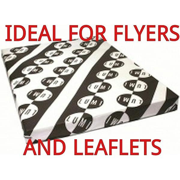 Digital -Craft Laser A3 150 GSM Silk Laser 2 Sided Printer Paper x 500 Sheets Ideal for Leaflets