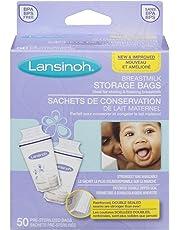 Lansinoh Breastmilk Storage Bags – Pack of 50
