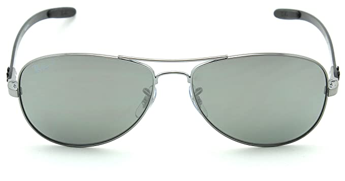 Amazon.com: Ray-Ban RB8301 polarizadas Fibra de Carbono ...