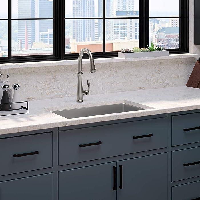 KOHLER K-560-VS Bellera Kitchen Faucet