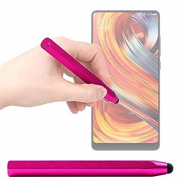 DURAGADGET Lápiz Stylus Rosa para Smartphone Doogee Mix 2 / Xiaomi ...