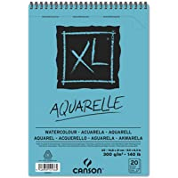 Bloco Espiralado XL A5 300g/m², Canson, 60082843, Aquarelle, 20 Folhas