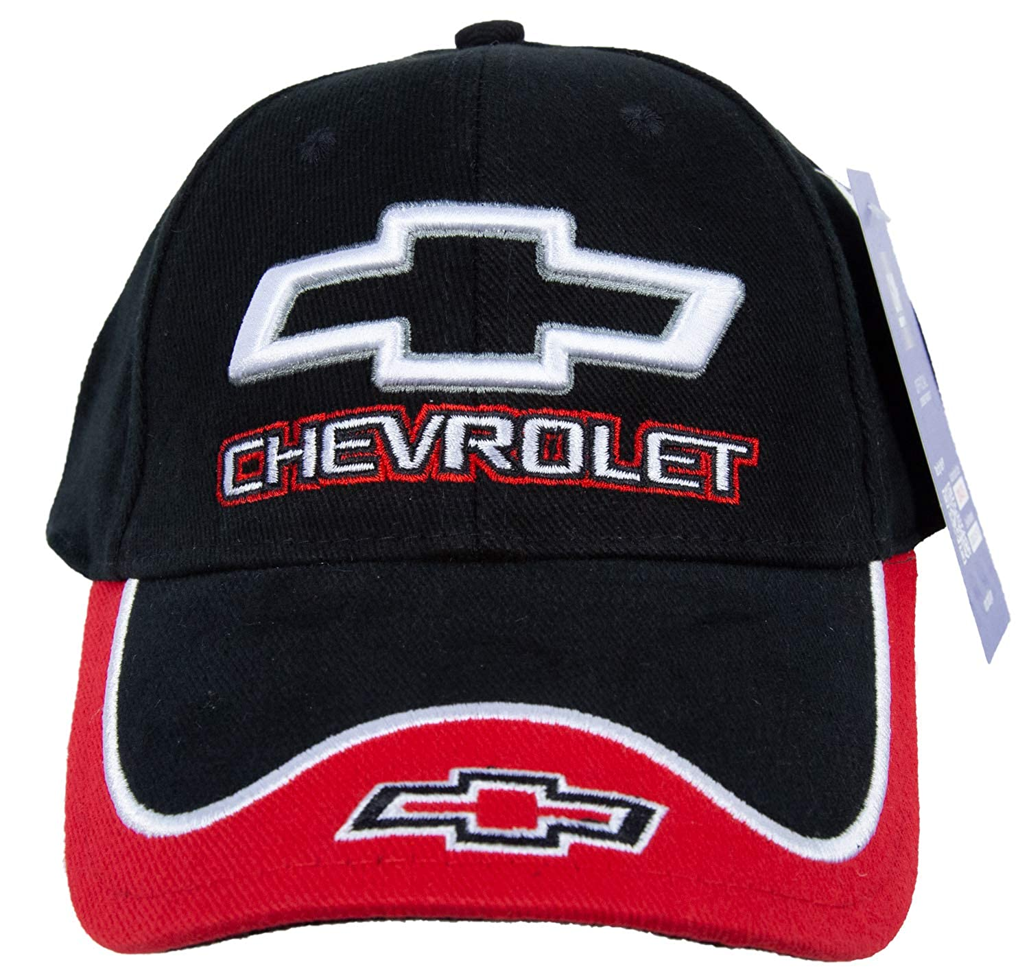 Amazon.com: Chevy Cap - Chevrolet Fine Embroidered Contrasting Hat (Black/Green): Clothing