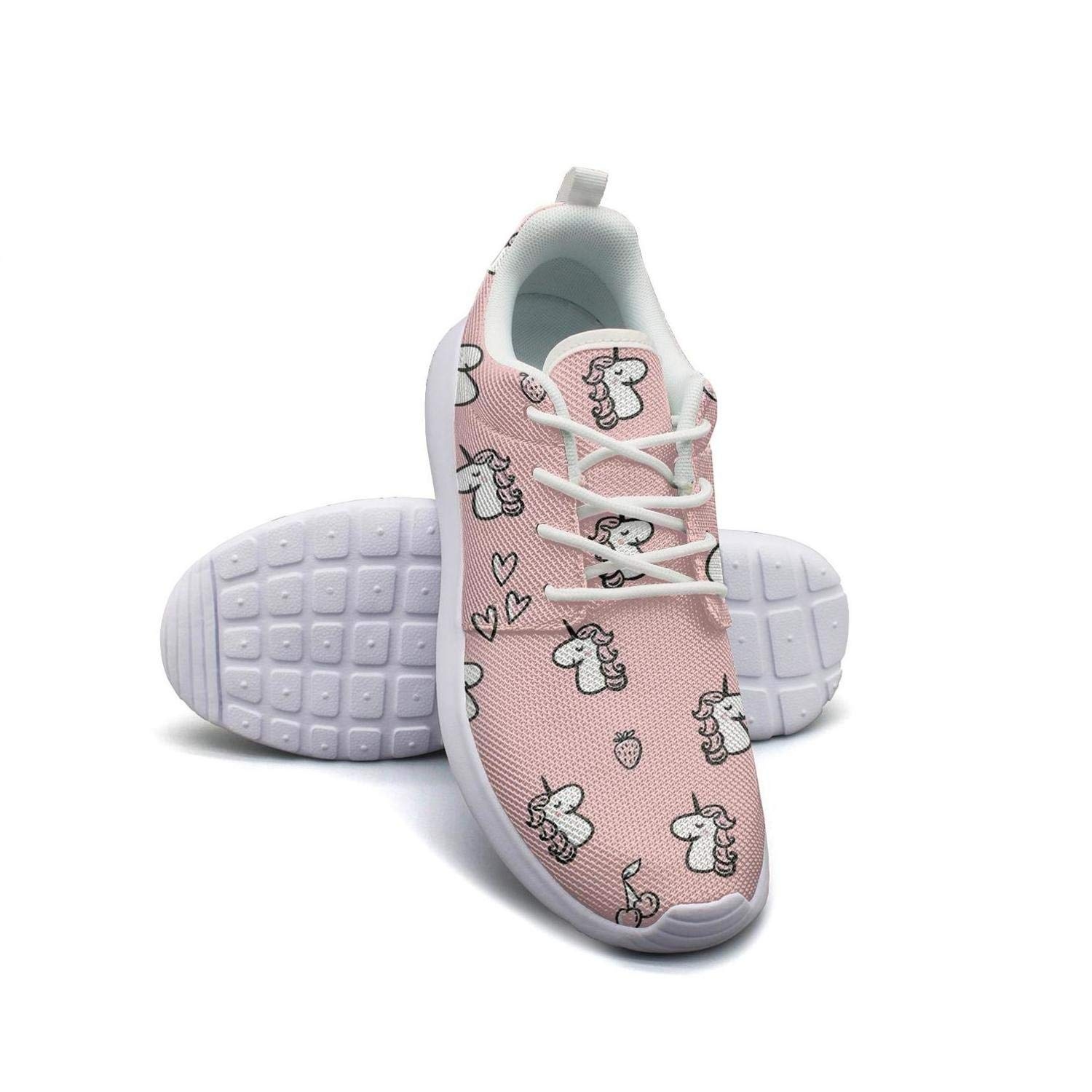 Strawberry plants fruit Dots White Casual Shoes for Women Lo-Top Wear-Resistant Running Shoes For Girls