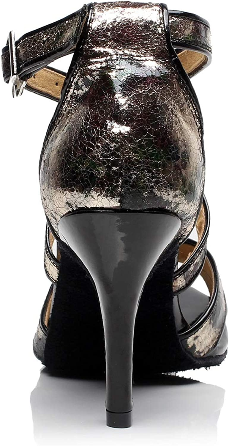Chaussures Tango Latin Jazz Chaussures Femme Chaussures De Danse Moderne Chaussures De Danse De Salon Chaussures Femme Zapatos de Baile Profesional Para Mujer Black