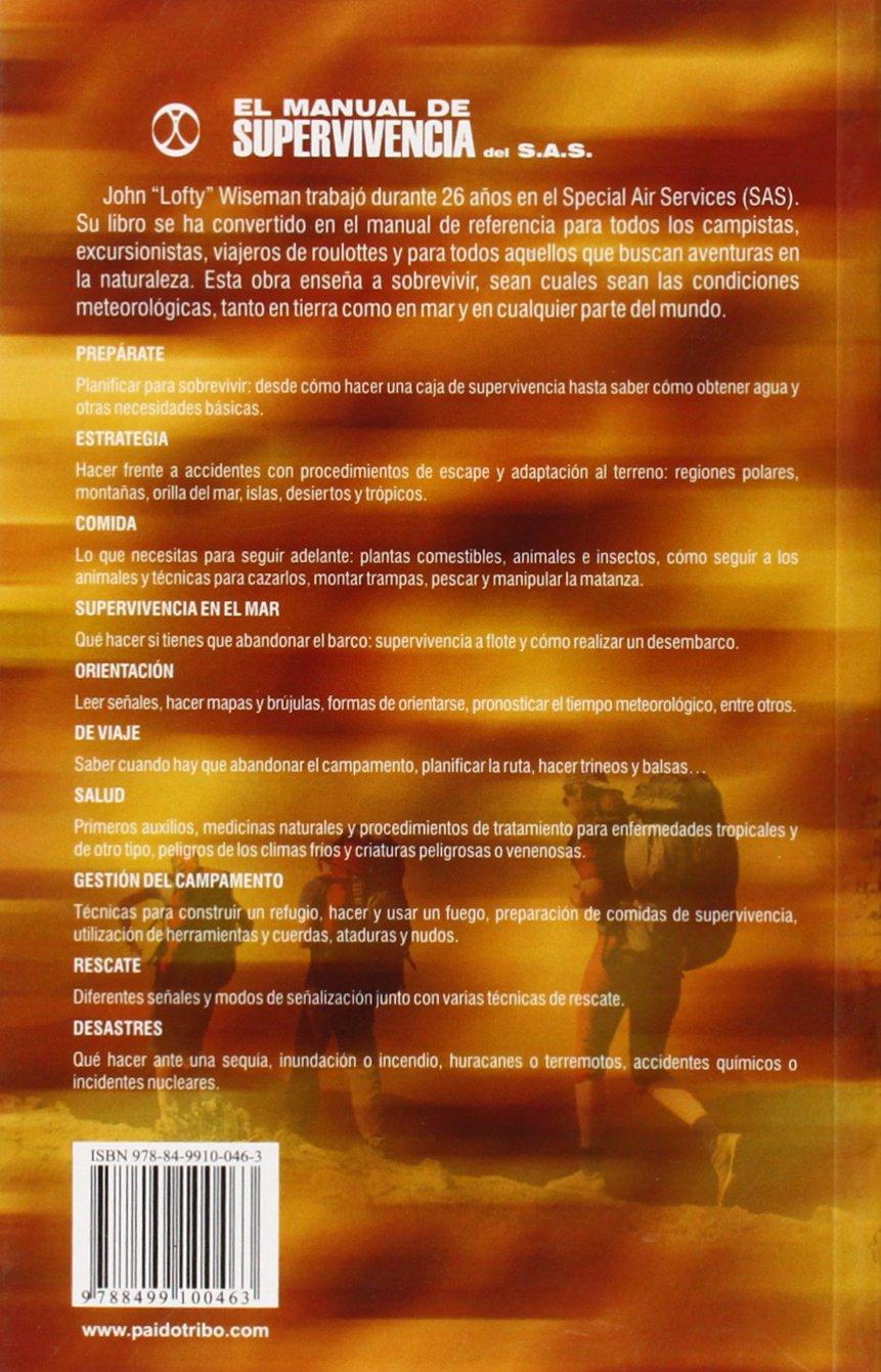 El Manual De Supervivencia Del S.A.S. (Deportes): Amazon.es: John
