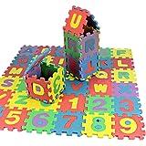 f9885e87c8efd5 Alphabet Weiche Badteppich Badvorleger Set